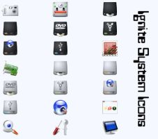 Ignite System Icons by cavemanmac