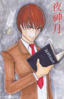 Light Yagami Death Note by ChrisOzFulton