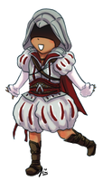 Ezio in Puffy Pants by TheALMs
