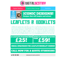 Leaflets-Booklets Design Page Redesign by DigitallyDestined