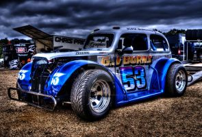 Oval Track Legend 53 Rob Bunting @ Aldershot HDR by Petrol-Head-Images