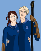 Rose and Scorpius by Rotae