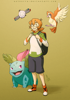 Pokemon Trainers: Pidge