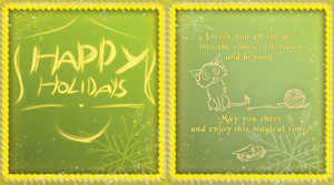 Holiday card submission by MadRacer