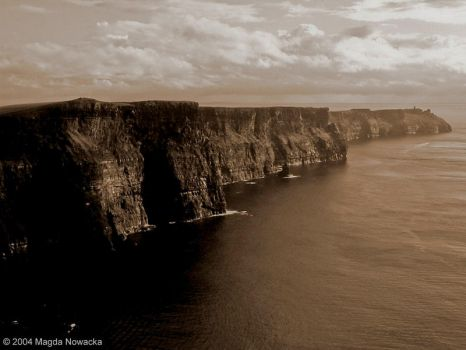 the cliffs oh moher II by schelly