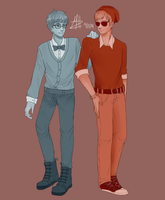 Some hipsters by mirahiko
