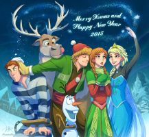 Frozen Xmas And New Year by Jeff-Mahadi