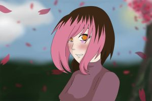 Falling Cherry Blossoms by StrawberryNinilein