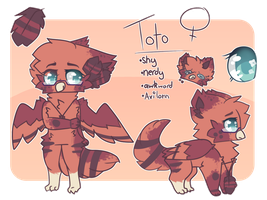 Toto Ref / Feb 2017 by ChaiFoxi