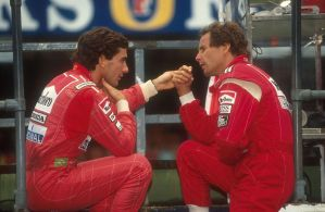 Ayrton Senna | Gerhard Berger (Great Britain 1991) by F1-history
