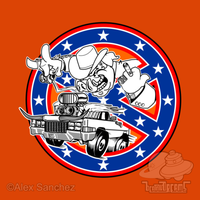 Ghostbusters of Hazzard - Franchise Logo by btnkdrms