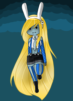 .::Adventure Time::. Vampire Princess Fionna by SakiCakes