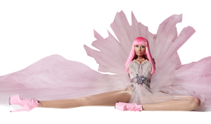 Nicki Minaj - Pink Friday PNG 02 (PERFECT) FULL HQ by danperrybluepink