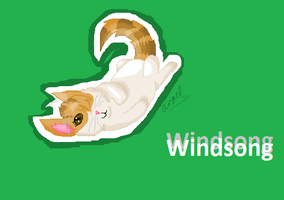 AT:Windsong Sticker by GrowlitheArtistGirl