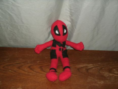 Deadpool Plush by lilith210