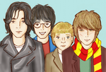 The Marauders by birdsyoucannotsee