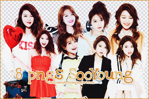 PNGs Pack SooYoung by Heoconkutecu