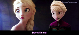 Stay With Me~elsa by meowxiaoshou