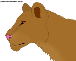 Birthday Lioness by Freakinblack