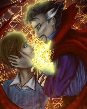 [Birthday Gift] Stephen and Tommy by Amolitacia
