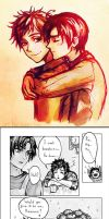!Spamano doujinshi (Axis Powers Hetalia) by cyan-fox