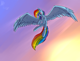Rainbow Dash, yeah :) by SupLoLNope