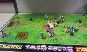 Blood Bowl Project 70 (play example 7) by PONYPAINTTHEPONY