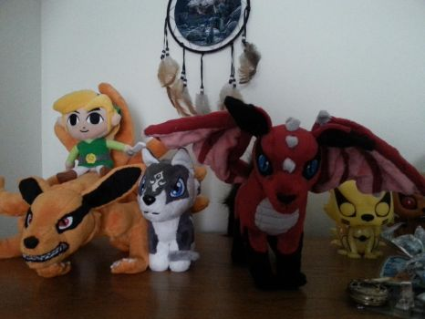 Plushie collection by Okami27