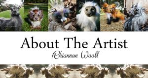 About The Artist by RhiannonWoolf
