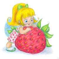 Strawberry fairy by jkBunny