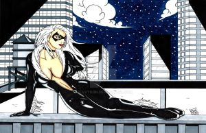 Black Cat by Elvatron
