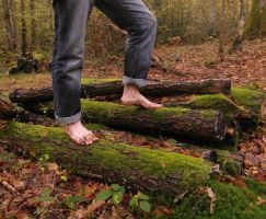 Autumn barefooting 6 by PhilsPictures