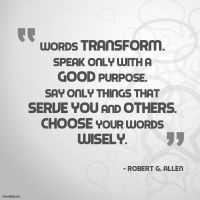 Quote - Choose Words Wisely by rabidbribri