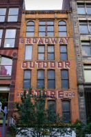 BROADWAY OUTDOOR STORE by ScarredWolfphoto