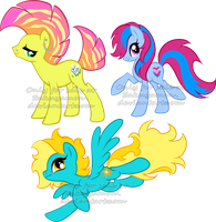 Various pony adoptables7 by Sakuyamon