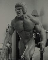 TV show Hulk wip by sup3rs3d3d