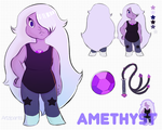 Amethyst Reference Sheet by Artzipants