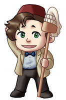 Chibi 11th Doctor v2 by TwinEnigma