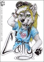 Badge: Cally by Cally-Dream
