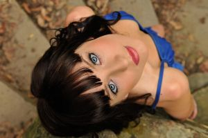 Louise - blue eyes 2 by wildplaces