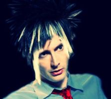 David with emo hair by jakey01