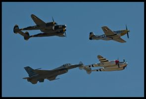 Planes of Fame 34 by AirshowDave