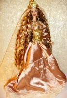 Queen Guinevere barbie doll by dakotassong