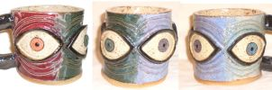 Eye Cup #13 by aberrantceramics