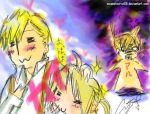 FMA :Serious Threesome crack: by insanetourist06