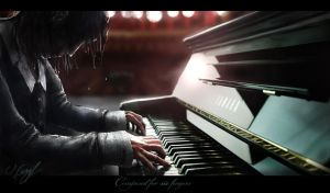 Composed for six fingers by Victor-Lam-art