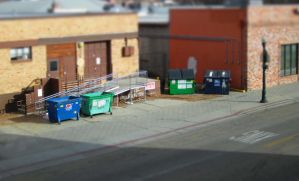 Little Dumpsters by VileYonderboy