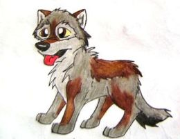 wolf pup by HowlingWolfSong
