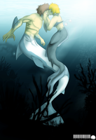 kiss under the sea by petplayer976