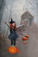 The Littlest Witch by LindArtz